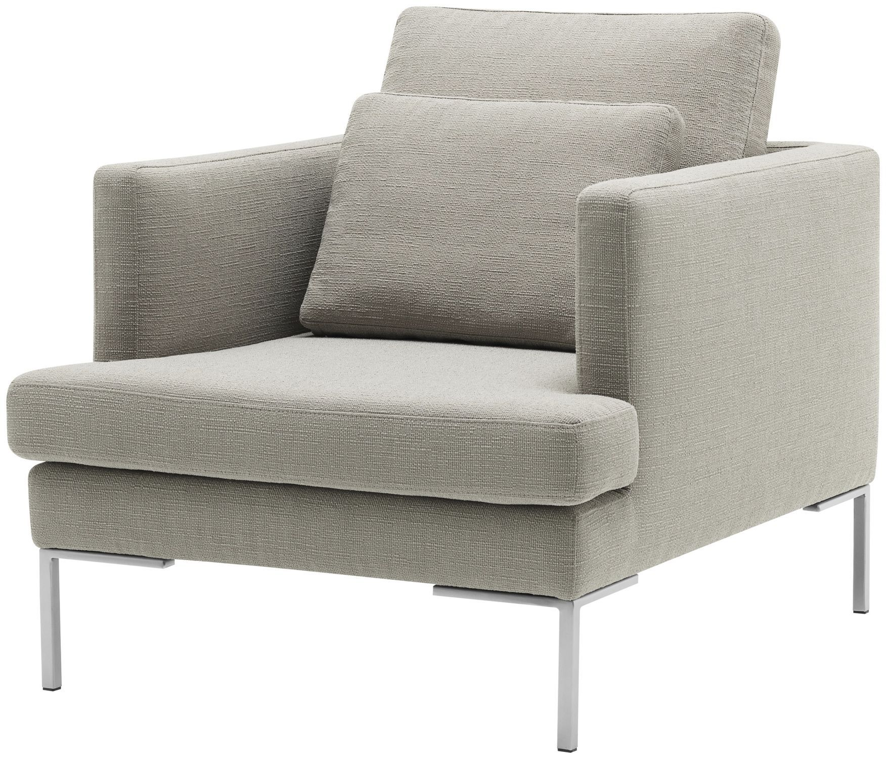Contemporary Armchair / Fabric / Leather   ISTRA