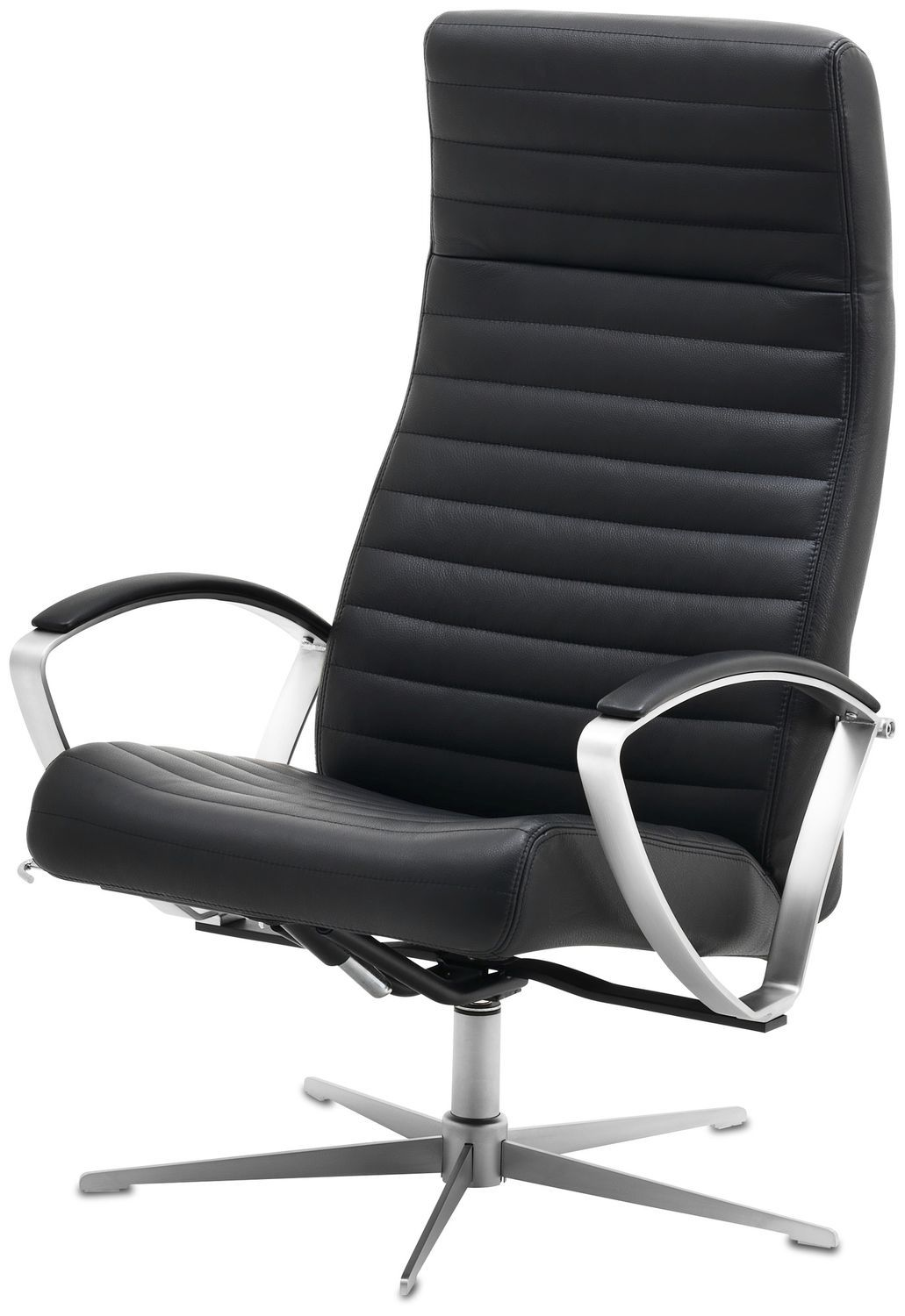Contemporary Armchair / Fabric / Leather / Reclining   WING