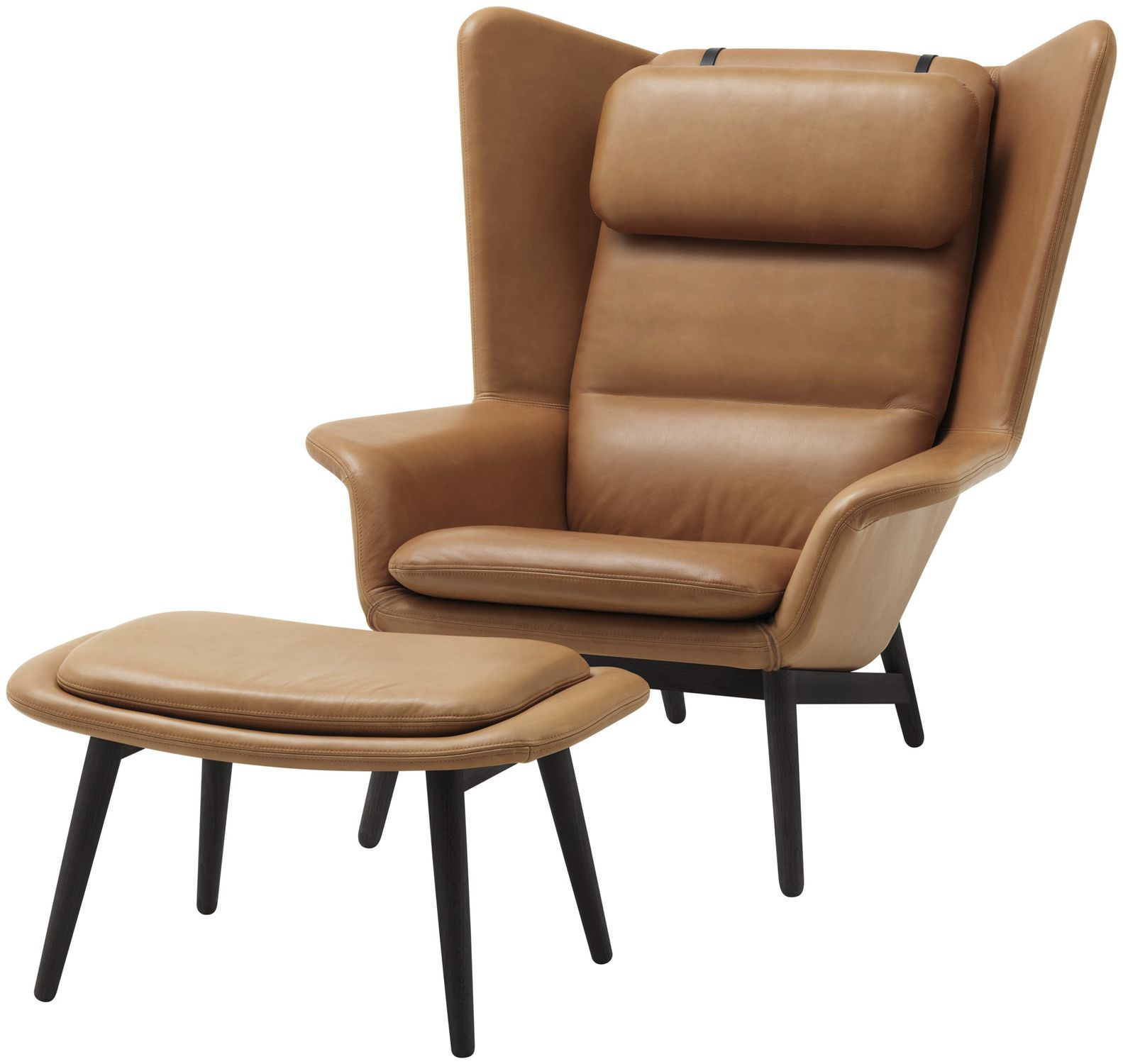 Exceptional ... Contemporary Armchair / Wooden / Fabric / Leather HAMILTON BoConcept ...