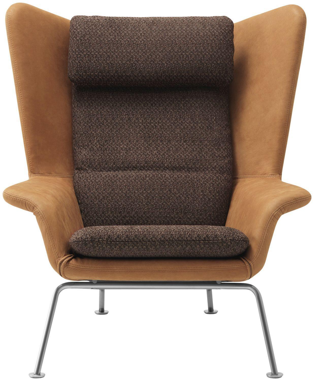 ... Contemporary Armchair / Wooden / Fabric / Leather HAMILTON BoConcept
