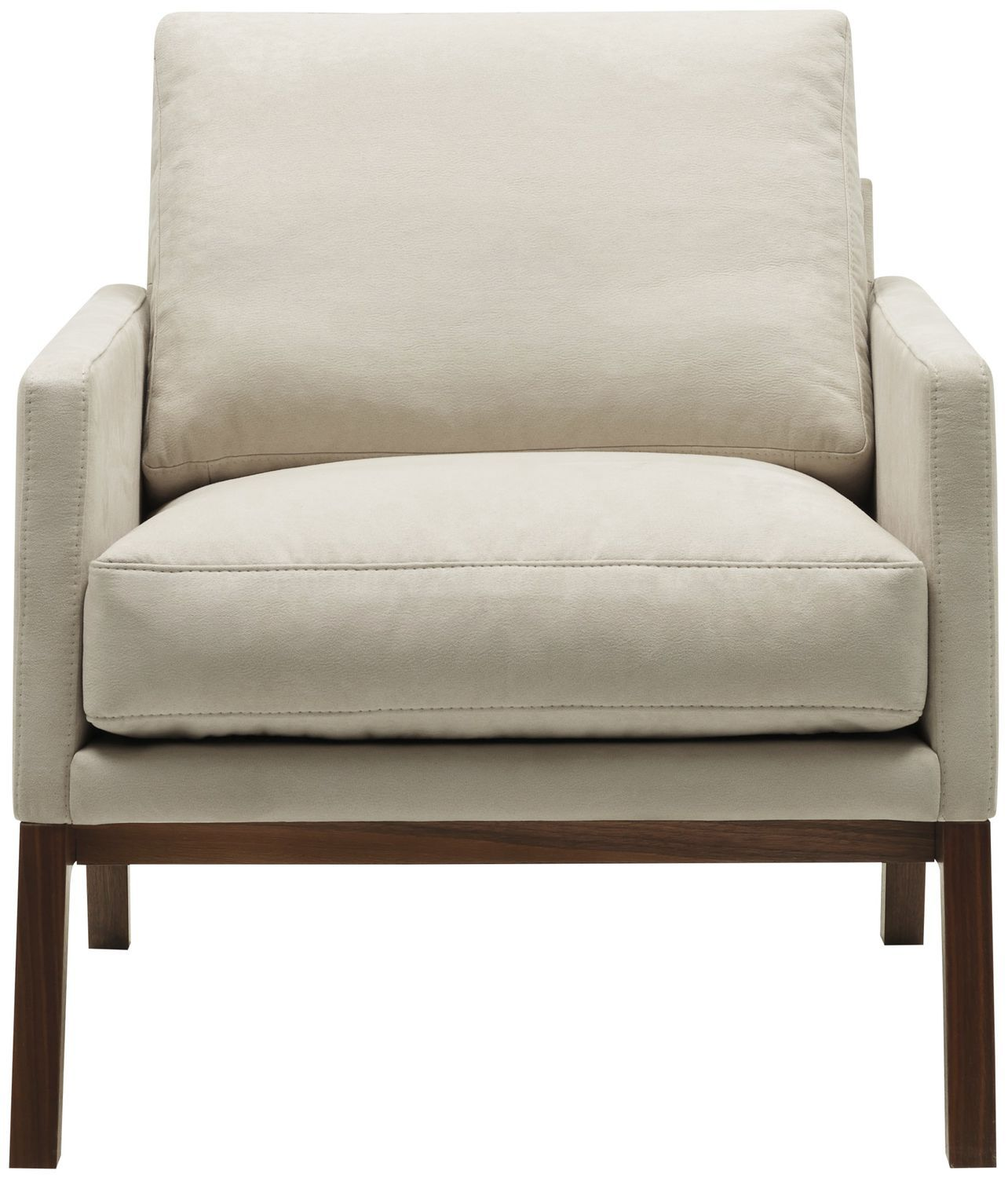 Charmant Contemporary Armchair / Wooden / Fabric / Leather. MONTE BoConcept