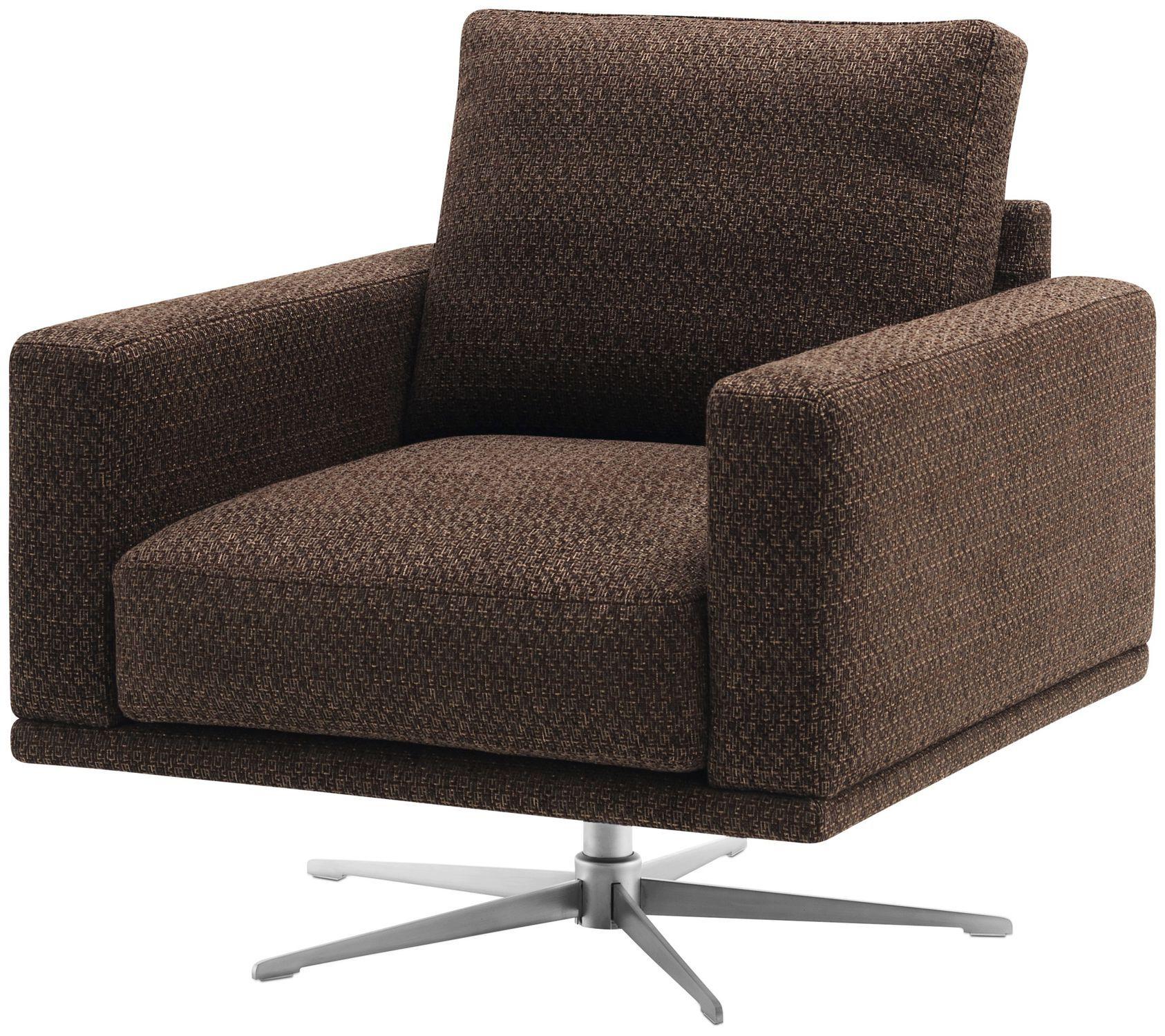 ... Contemporary Armchair / Fabric / Leather / Steel CARLTON BoConcept ...