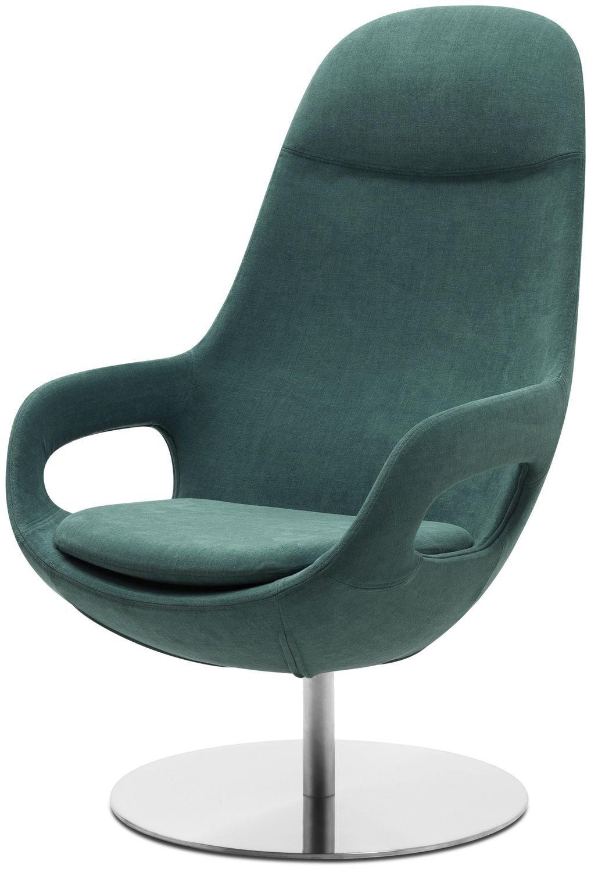 Contemporary Armchair / Fabric / Leather / Steel SMARTVILLE BoConcept ...