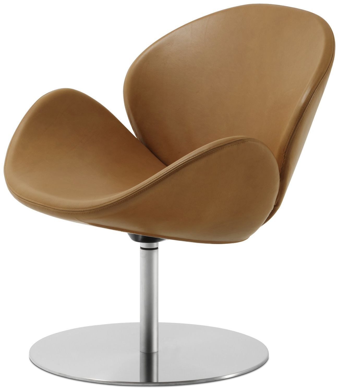 Charming Contemporary Armchair / Fabric / Leather / Steel OGI BoConcept ...