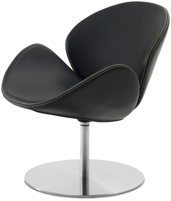 ... Contemporary Armchair / Fabric / Leather / Steel OGI BoConcept ...