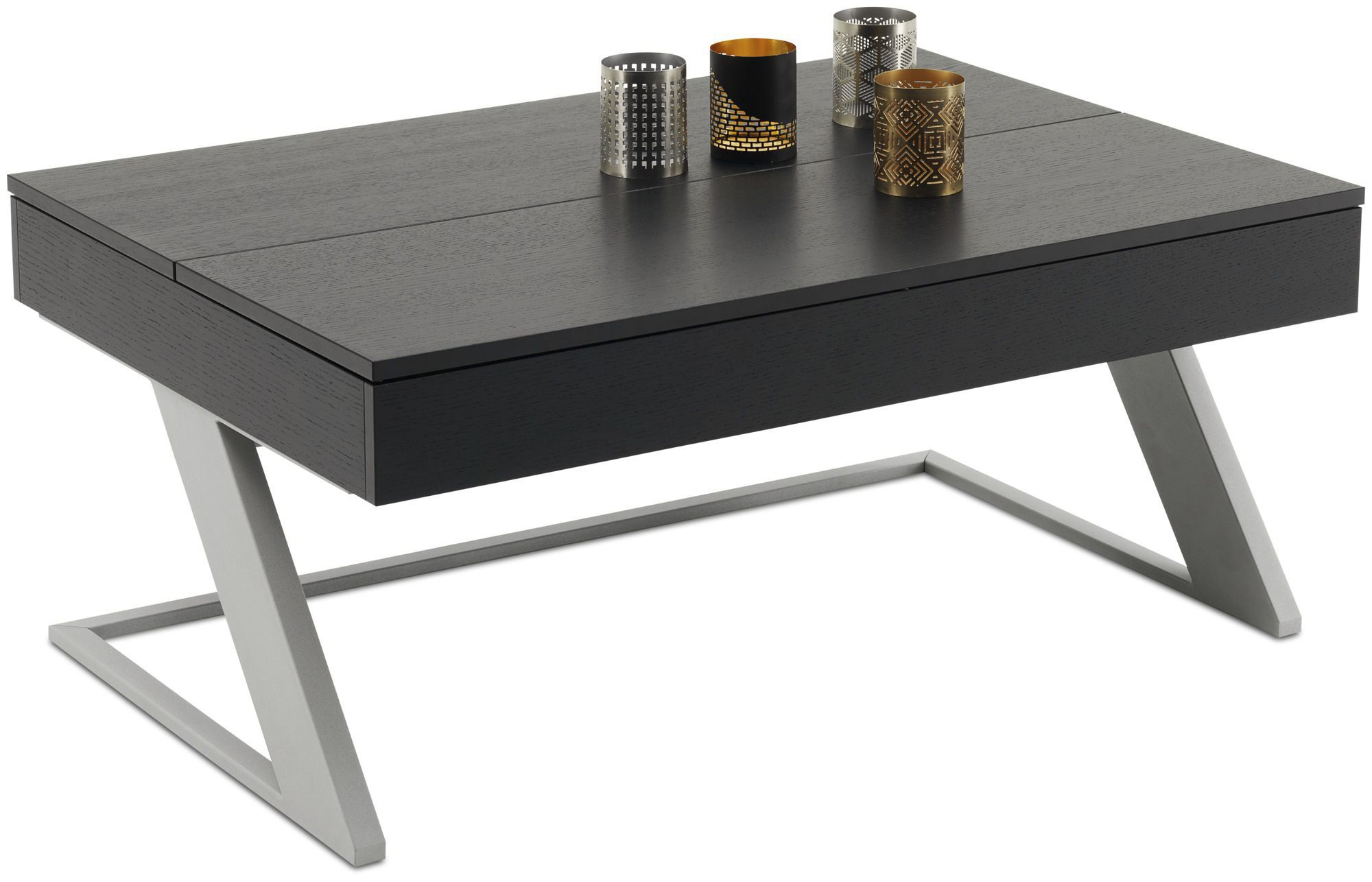 ... Contemporary coffee table / MDF / steel / rectangular GRANVILLE  BoConcept ...