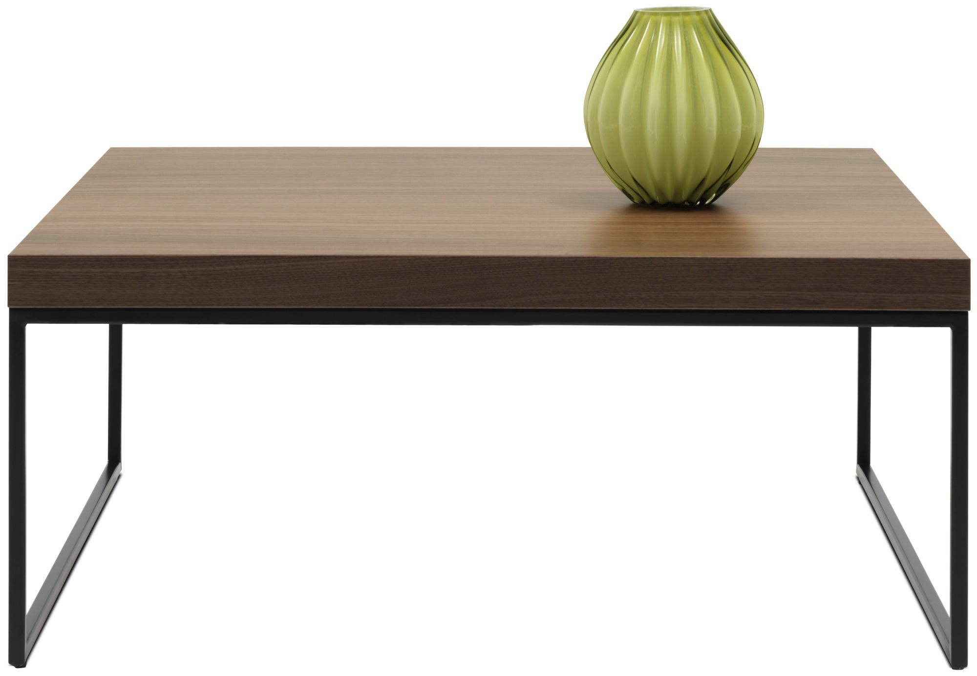 Contemporary coffee table / MDF / steel / rectangular - LUGO ...
