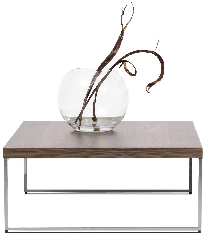 Contemporary coffee table MDF steel rectangular LUGO