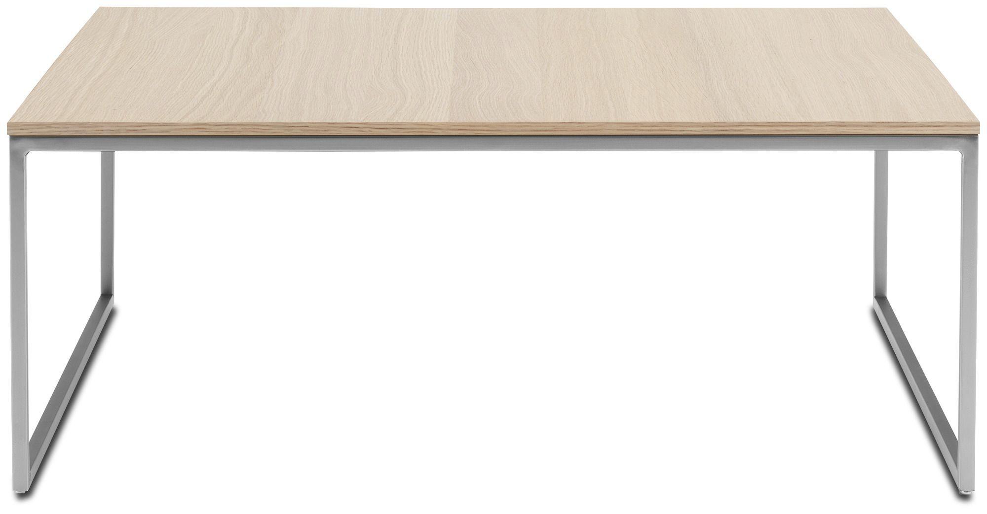contemporary coffee table / mdf / steel / rectangular - lugo