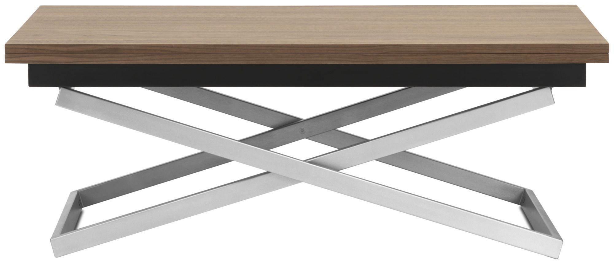 ... Contemporary Coffee Table / MDF / Steel / Rectangular RUBI BoConcept ...