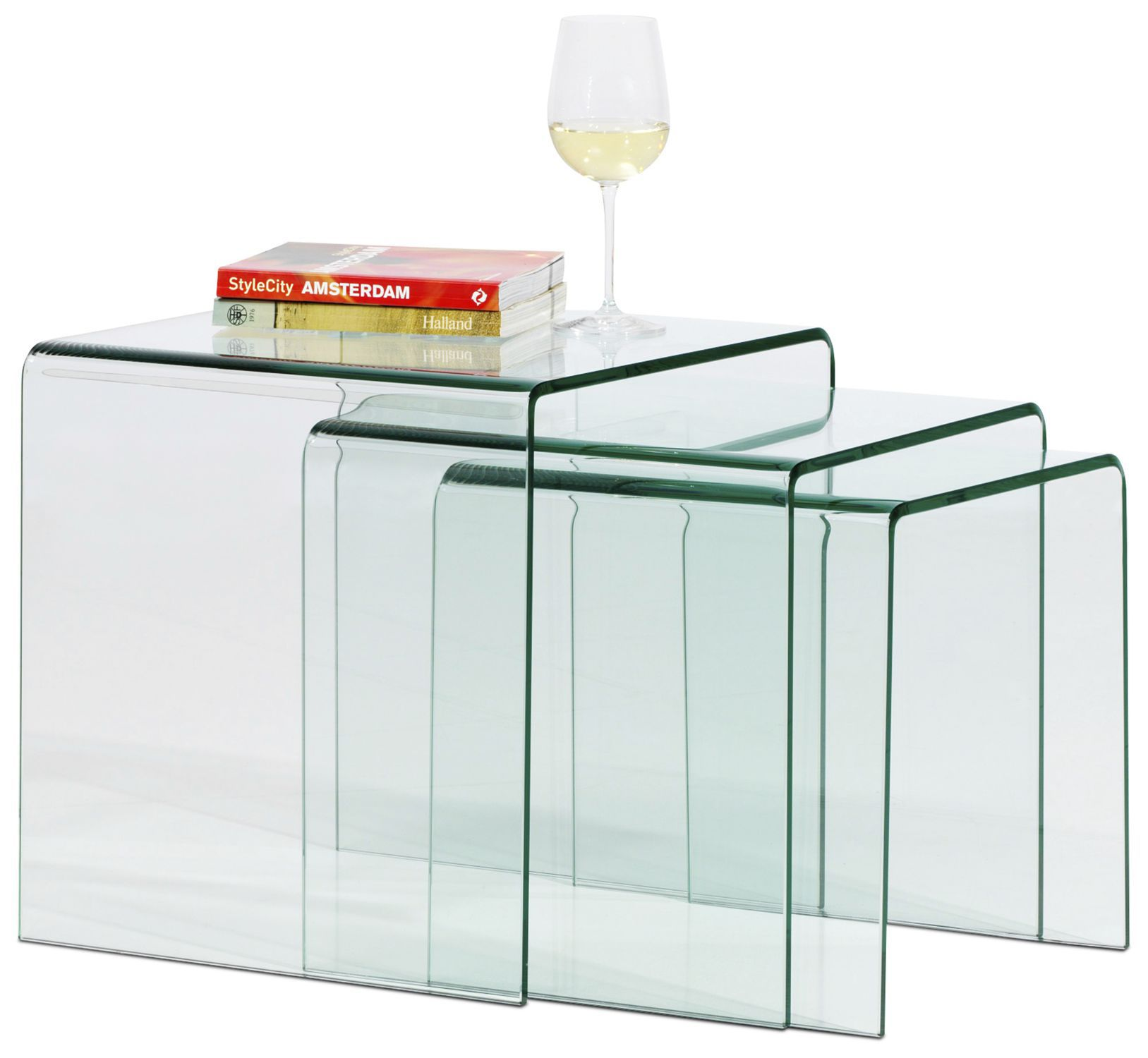Contemporary nesting tables glass rectangular adria boconcept contemporary nesting tables glass rectangular adria watchthetrailerfo