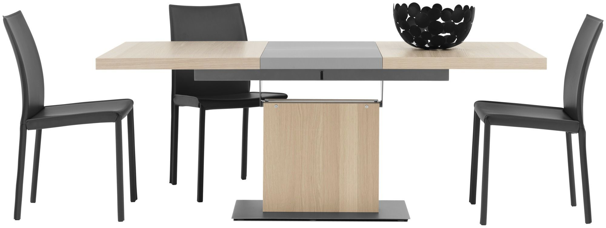 ... Contemporary dining table / MDF / steel / rectangular BARI BoConcept ...
