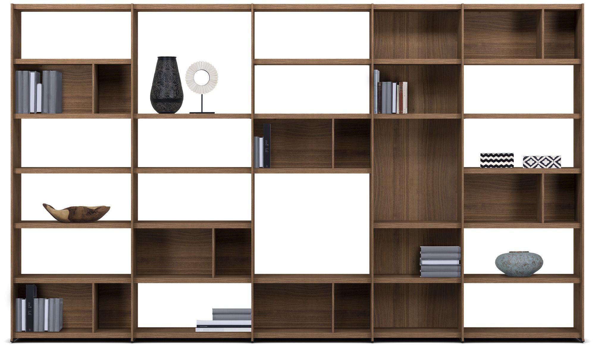 Contemporary Bookcase Mdf Custom Meda By Morten Georgsen  # Bo Concept Meuble Tv