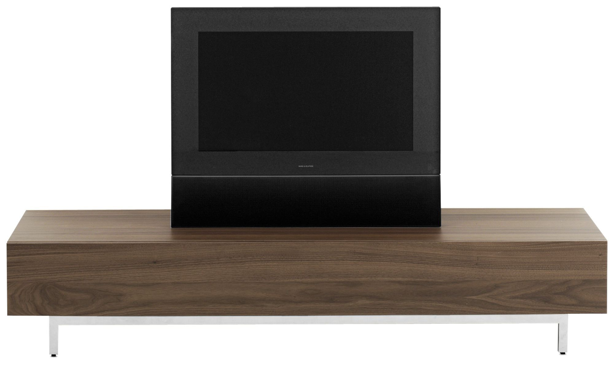 Contemporary Tv Cabinet Wooden Glass Steel Volani By  # Bo Concept Meuble Tv