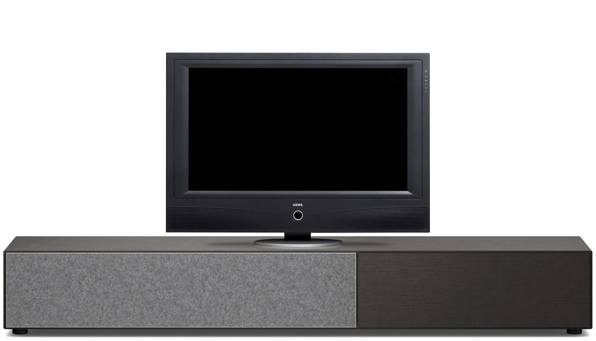 Contemporary Tv Cabinet Hi Fi Glass Mdf Lugano Boconcept # Meuble Tv California