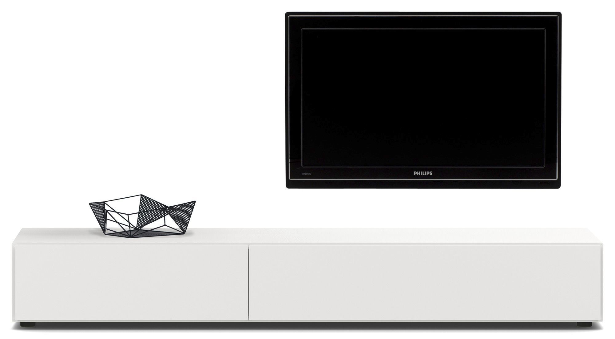 Contemporary Tv Cabinet Hi Fi Glass Mdf Lugano Boconcept # Meuble Tv Philips