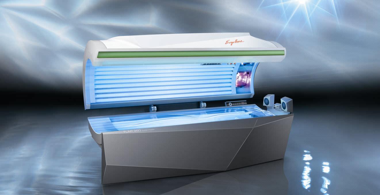 tanning bed - flair 250 - jk-sales ergoline