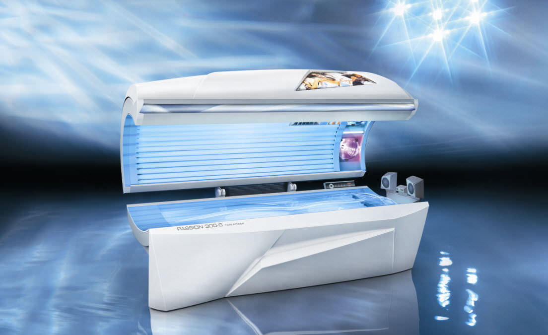 tanning bed - passion 300-s - jk-sales ergoline