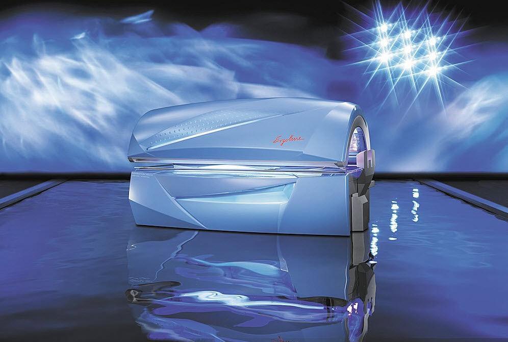 tanning bed - inspiration 450-s - jk-sales ergoline