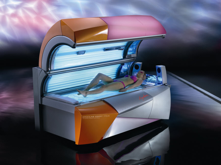tanning bed - esprit 770-s - jk-sales ergoline