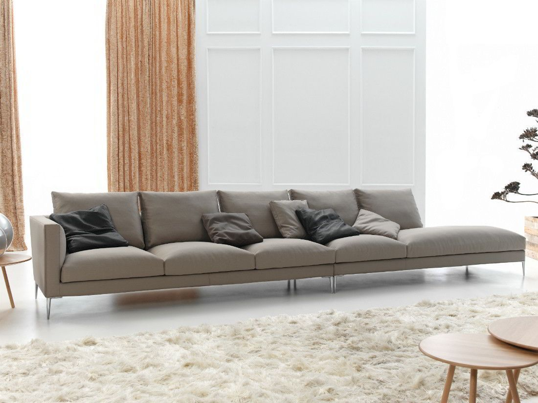 Modular Sofa Contemporary Fabric 3 Seater Slim By Arbel Frajumar Belta