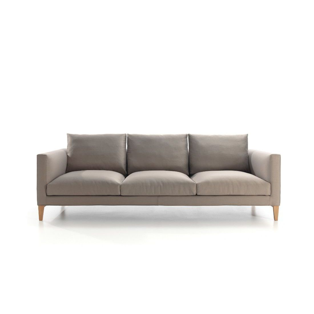 Modular Sofa Contemporary Fabric 3 Seater Slim By Arbel