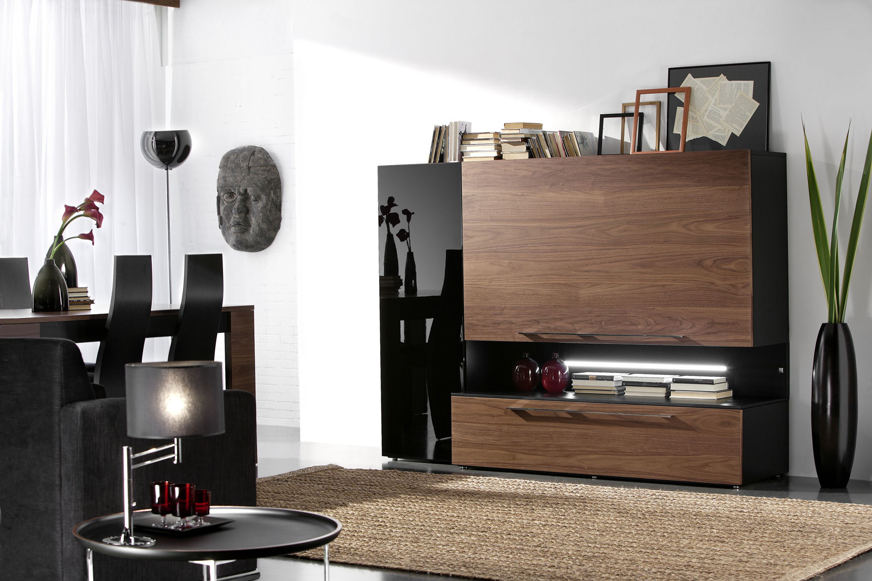 Wall Cabinets For Living Room Contemporary Living Room Wall Unit Efe Piferrer