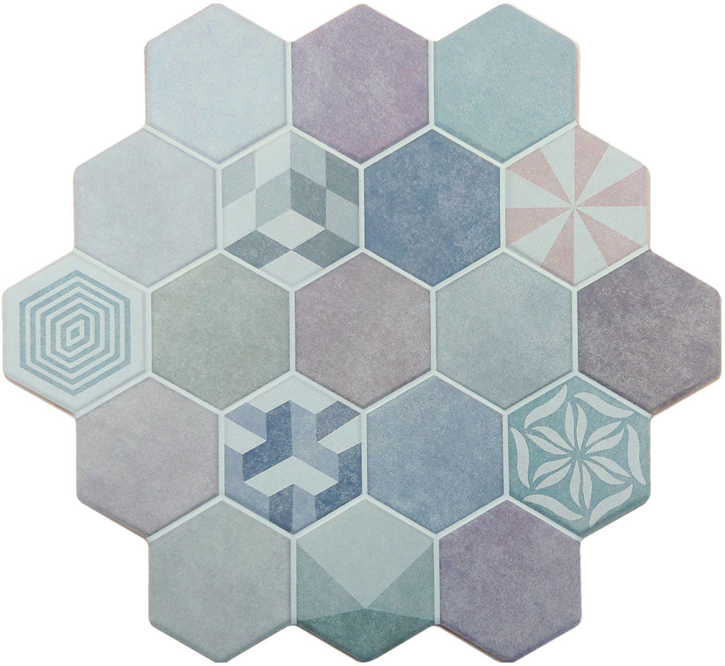 Bathroom tile / wall / ceramic / geometric pattern - COMBINE ...