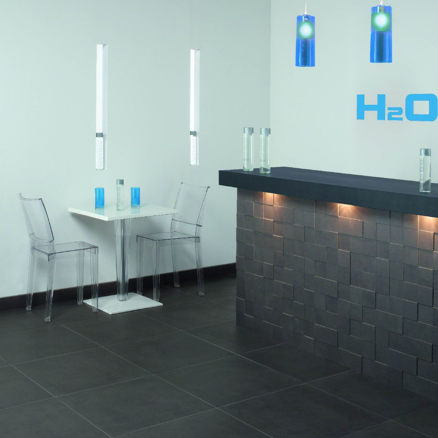 Indoor tile / wall / floor / porcelain stoneware - HYDRA - SALONI ...