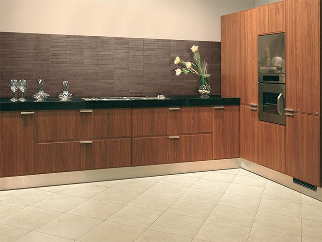 Kitchen Tiles Beige kitchen tile / floor / porcelain stoneware / plain - action