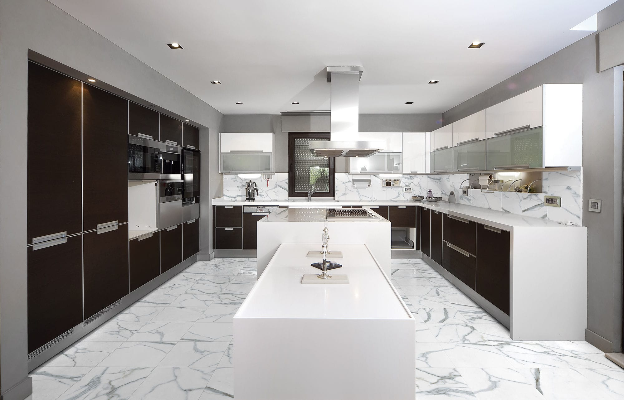 Kitchen Tile  Floor  Wall  Ceramic CALACATA Alfagres SA - Kitchen designs sa