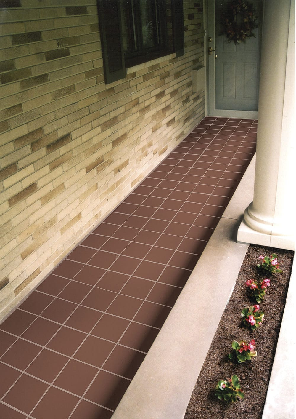 Outdoor tile floor clay polished colonial quarry outdoor tile floor clay polished colonial quarry dailygadgetfo Image collections