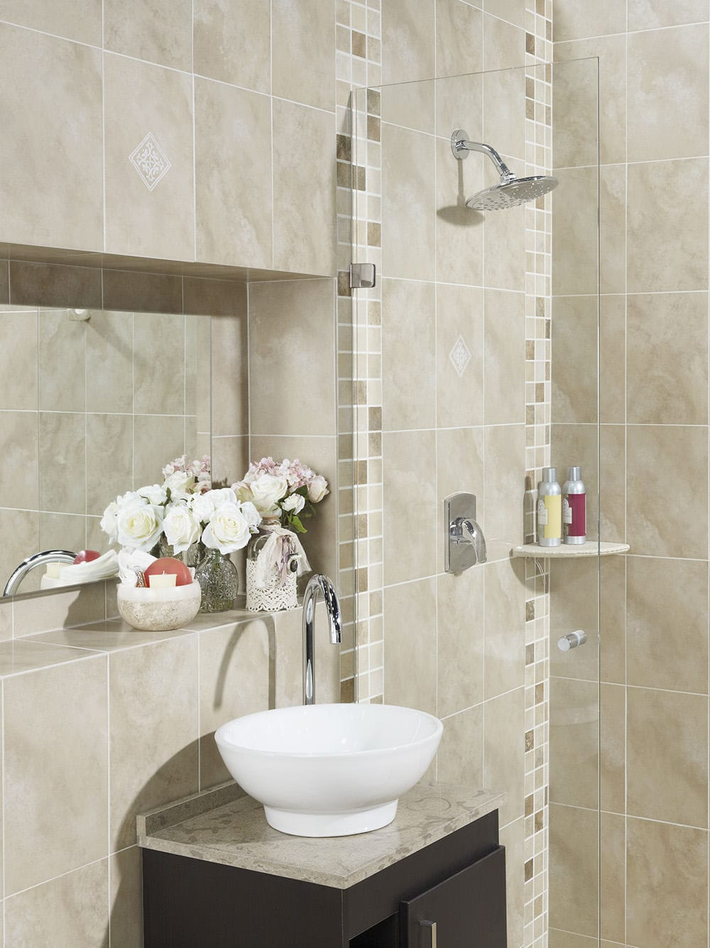 Bathroom tile / kitchen / floor / wall - ALABASTRINO - Alfagres S.A.