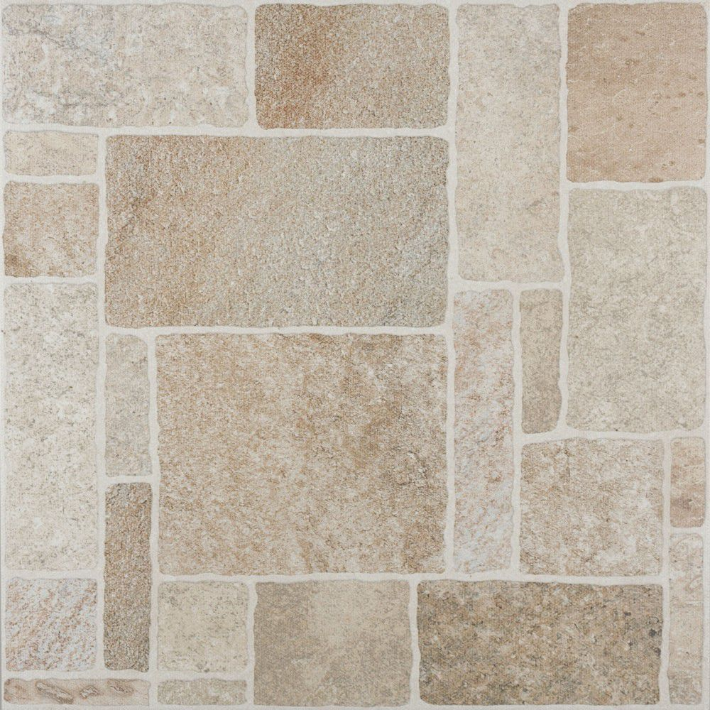 Outdoor Tile For Floors Porcelain Stoneware Geometric Pattern Matte Shiny Line Atacama Beige 88903