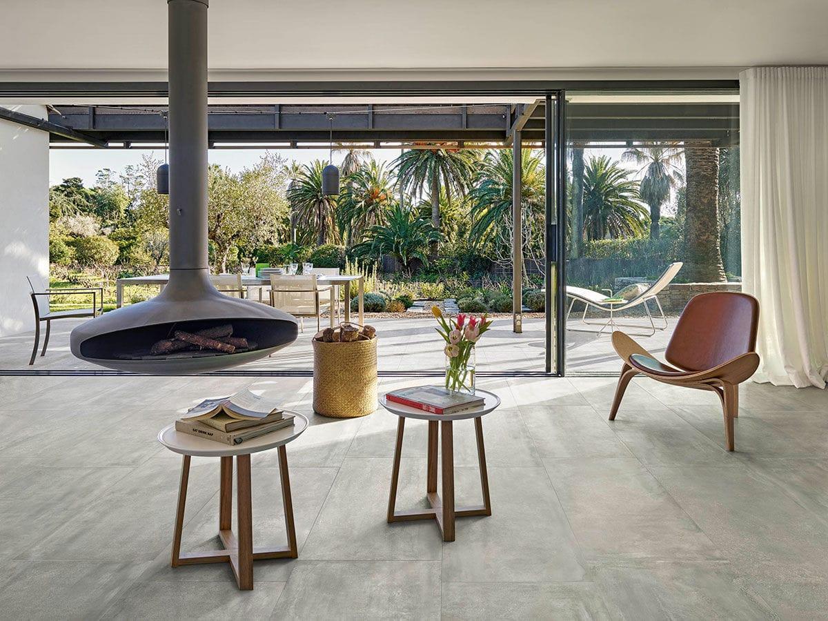 Floor tile / porcelain stoneware / plain / matte - ONMPOY ... - ^