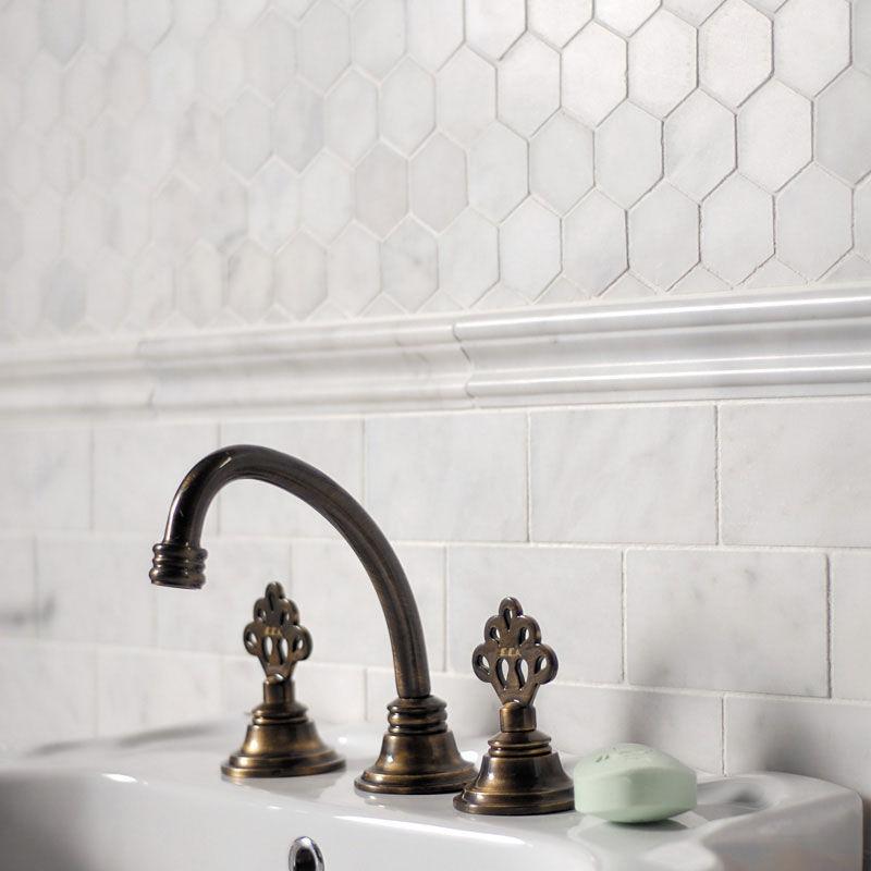 Bathroom Tile Wall Marble Paris Subway Tl13302 Marble Systems