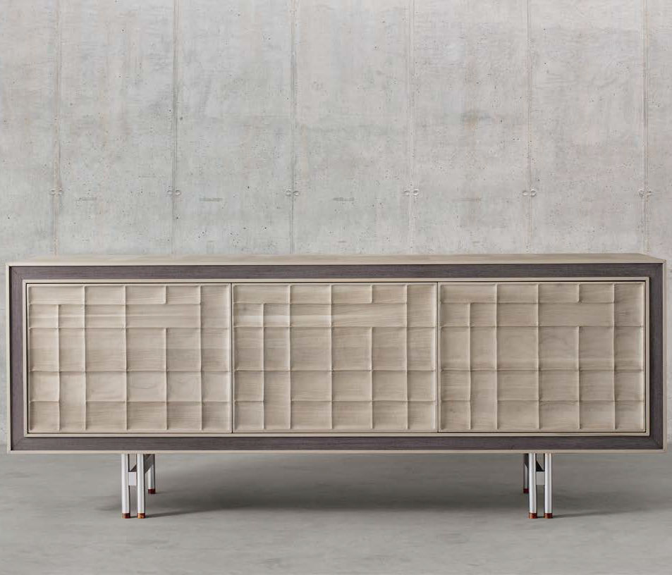 Sideboard Beige contemporary sideboard wooden brown beige a 613 dale italia