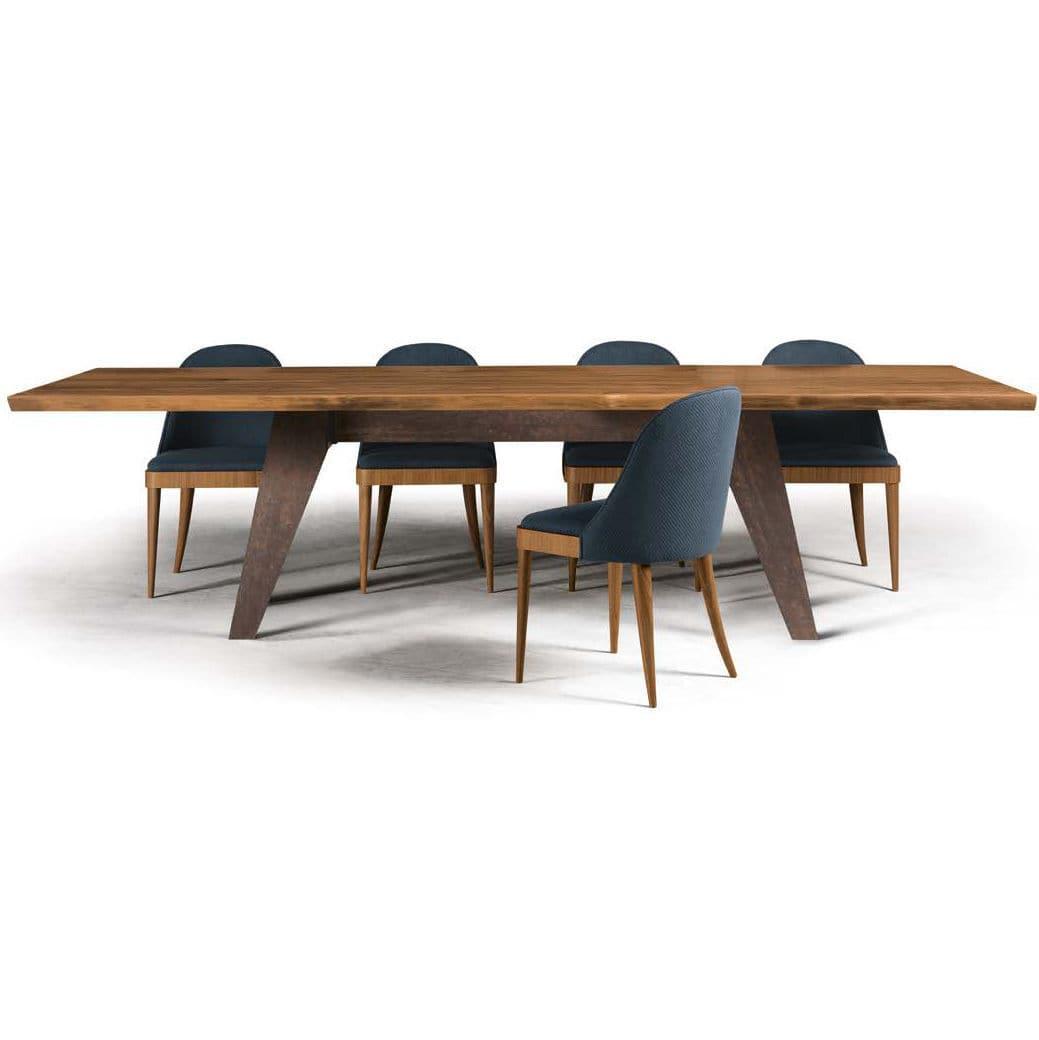 contemporary table  wooden  rectangular  b  dale italia - contemporary table  wooden  rectangular b dale italia