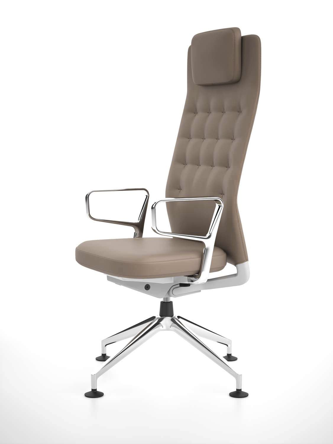 Contemporary Office Chair / Ergonomic / With Headrest / Adjustable   ID  TRIM L