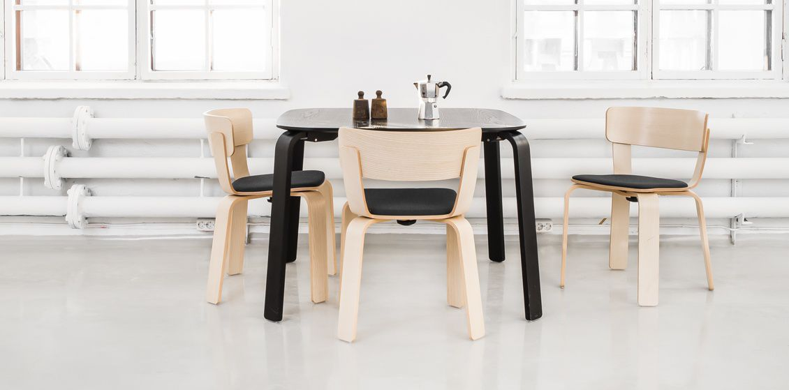 Contemporary Table / Wooden / Rectangular BENTO KITCHEN By Form Us With  Love One Nordic ...