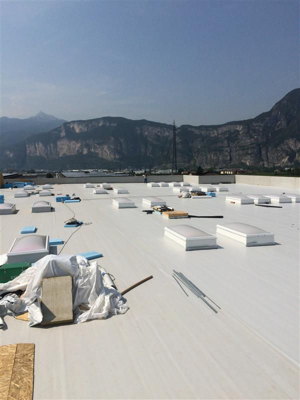 ... Synthetic Waterproofing Membrane / PVC P / Roof / Roll MAPEPLAN® B  Polyglass Spa ...