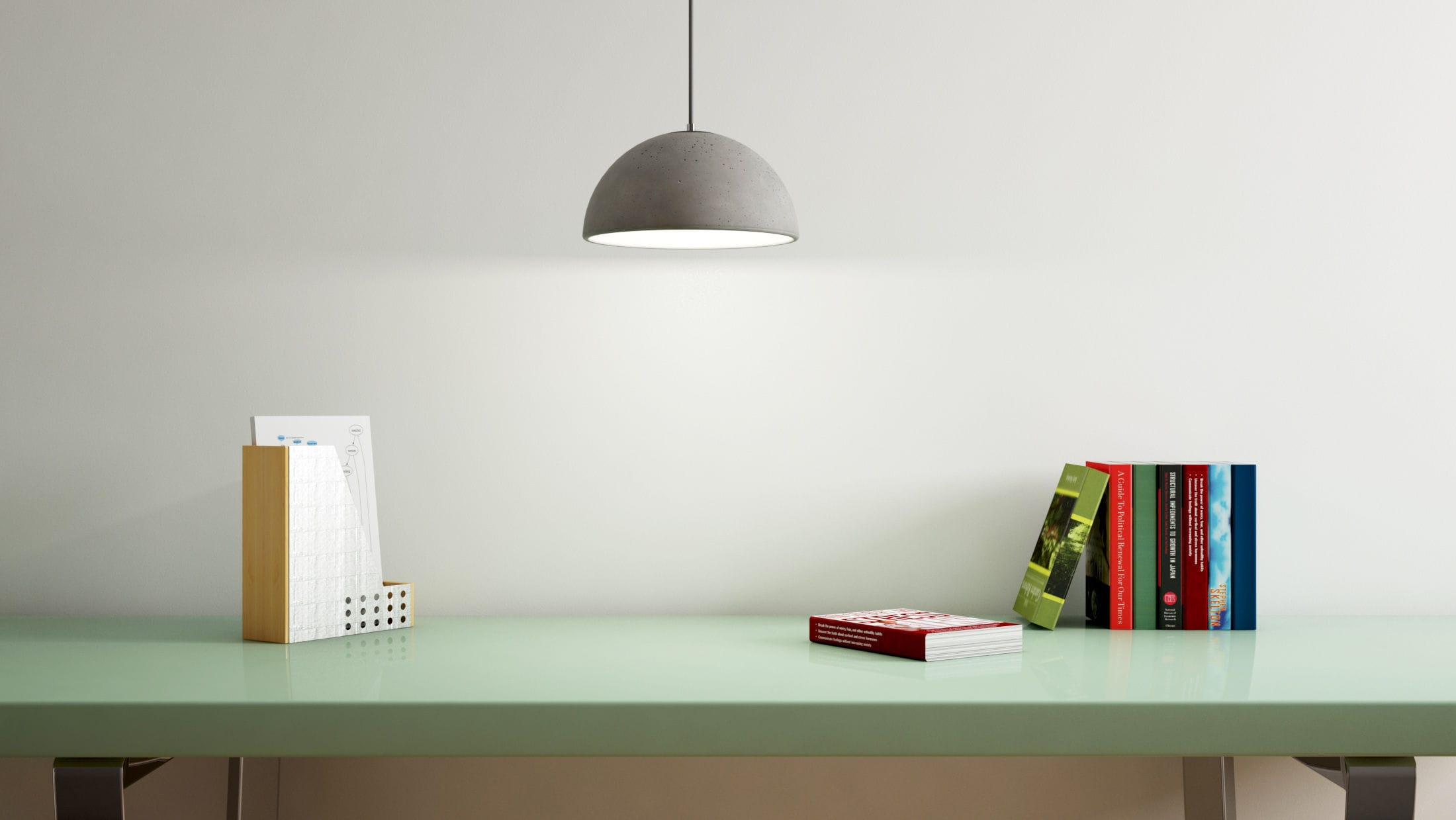 pendant by cast hubert e walled t h lamp concrete r m f llwdesign heavy benjamin pin o lights decode thin design