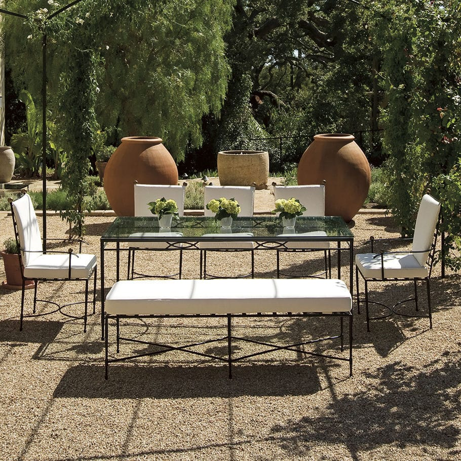 ... Traditional Garden Chair / Stainless Steel / Commercial AMALFI JANUS Et  Cie