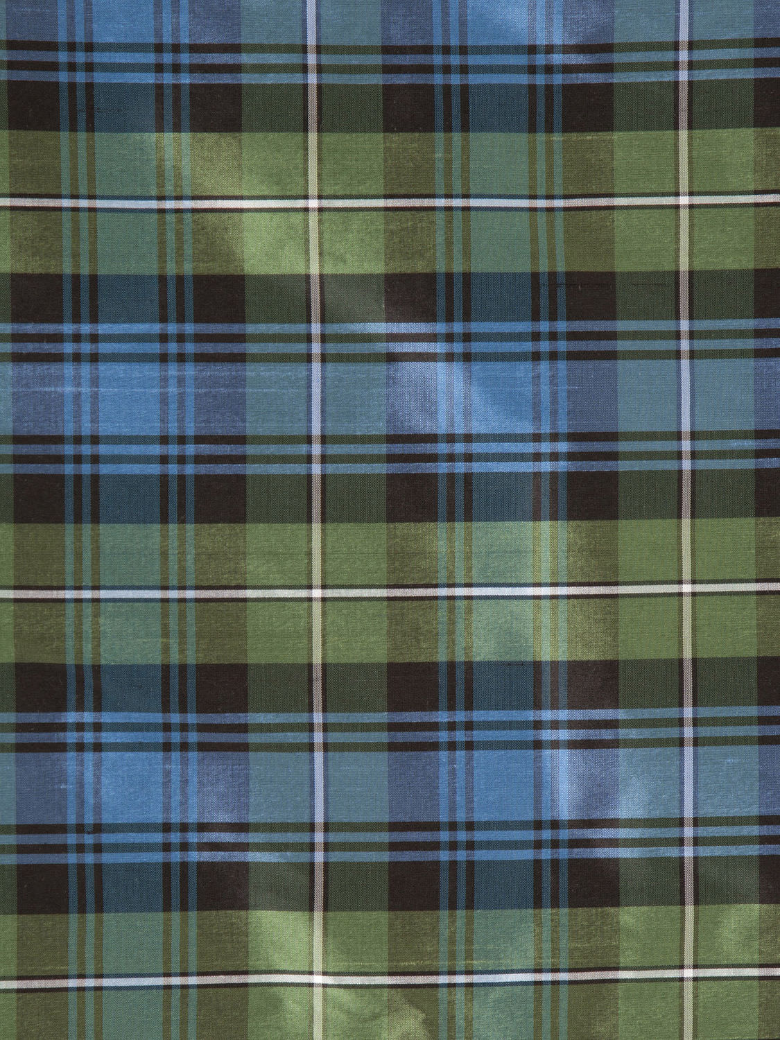 Upholstery Fabric Plaid Silk Tartans Holland Sherry