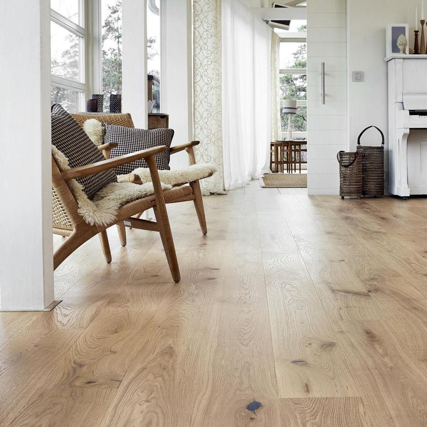 Engineered Parquet Floor Glued Oak Oiled Heritage