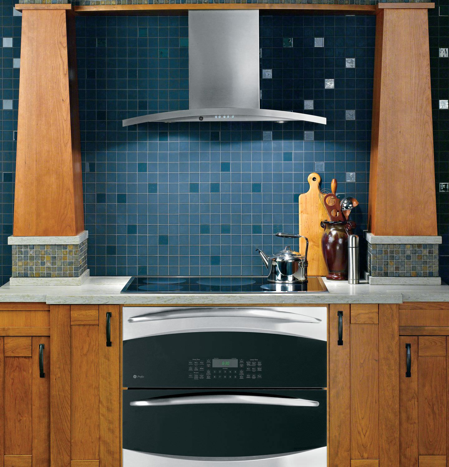 Wall-mounted range hood / with built-in lighting - PV976NSS ...