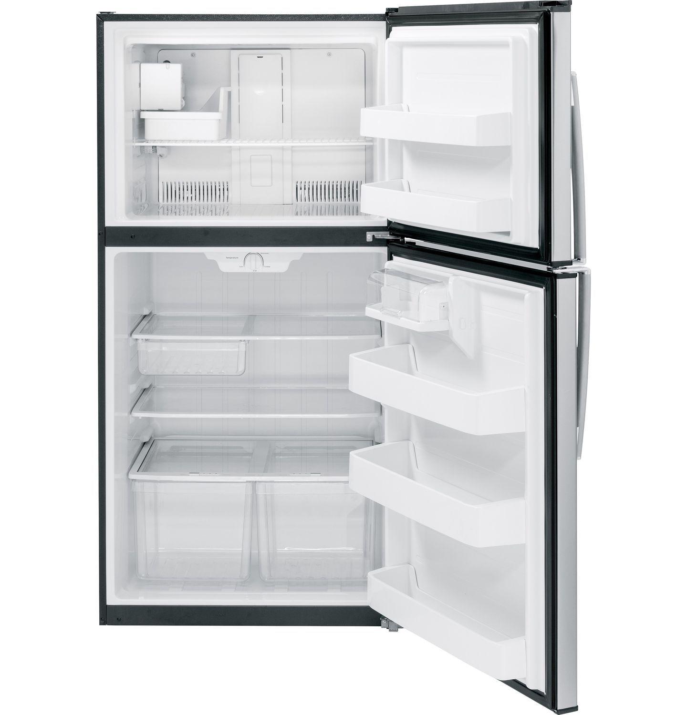Residential refrigerator-freezer / double door / stainless steel ...