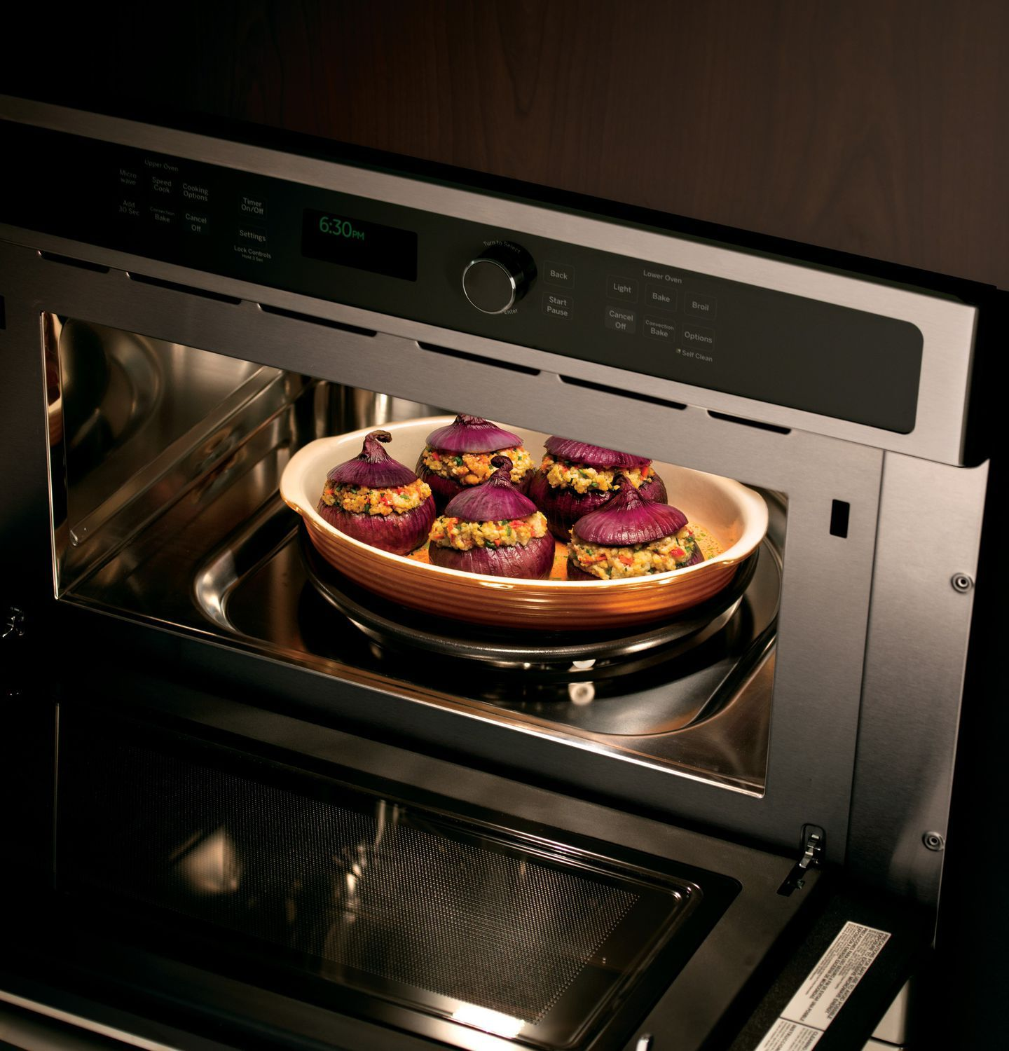 Electric Oven Double Microwave Convection Pt9800shss General