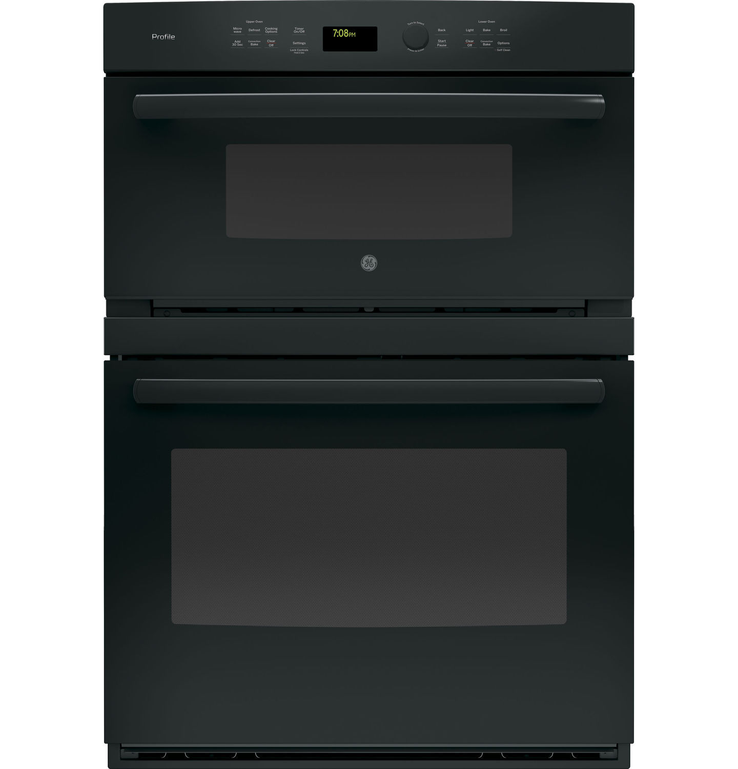 Electric Oven Double Microwave Convection Pt7800dhbb General
