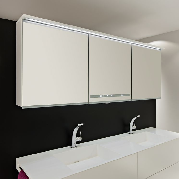 Mirrored Bathroom Wall Cabinet Smart Alke